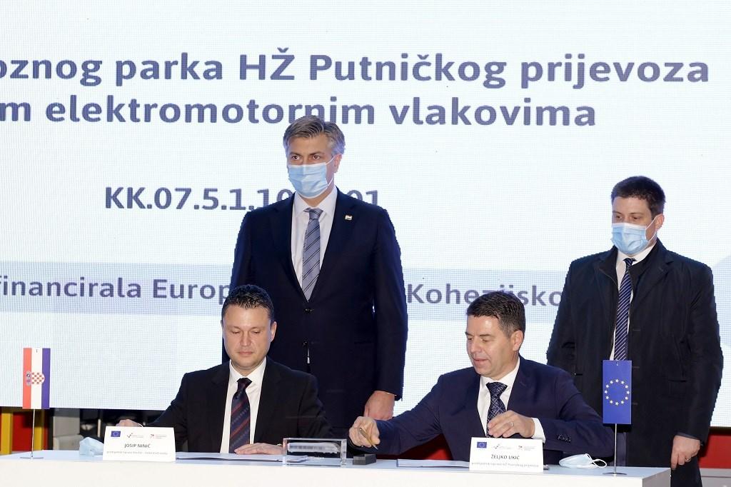 Potpisan Ugovor o kupoprodaji 21 elektromotornog vlaka