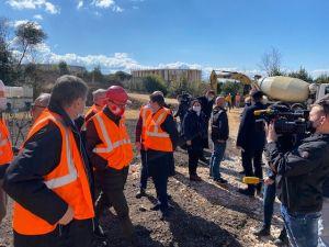 Ministar Butković obišao radove na DC403 u Rijeci