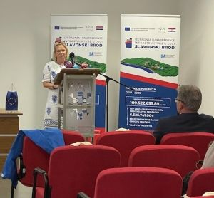 Završna konferencija projekta 'Izgradnja i unapređenje infrastrukture u luci Slavonski Brod'