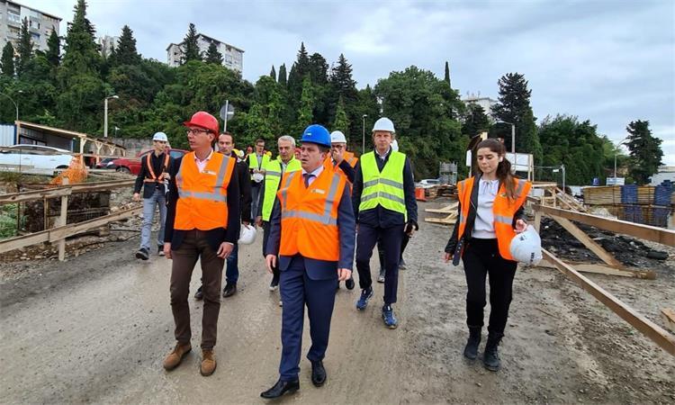 Projekti financirani iz EU fondova tema razgovora ministra Butkovića i gradonačelnika Grada Rijeke